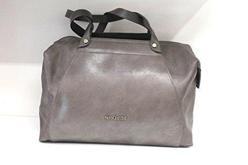 Nero Giardini 43323 bolsa de cuero de las señoras bolso de cuero marrón
