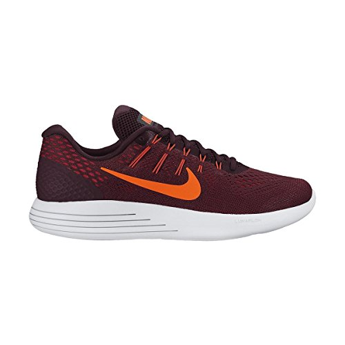 Lunarglide Crimson Red Corsa Uomo da Night Nike Morado Scarpe noble Total 8 Maroon dq1fxU