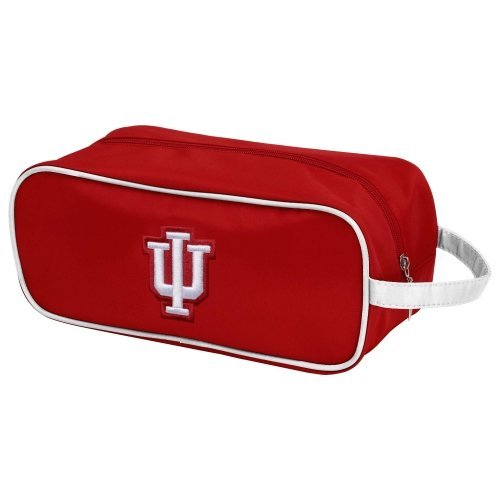 - Charm14 NCAA Indiana Hoosiers Travel Case- Toiletry Bag with Embroidered Logo