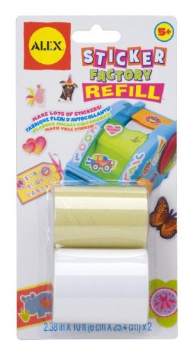 (ALEX Toys Craft Sticker Factory Refill )