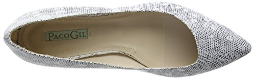 Paco Chiuse Bianche Gil Ballerine P2995 Bianco Donne vgvrBq