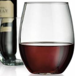 eea973cd855 Home Essentials & Beyond 5773 21 oz. HE Kraft Stemless Wine Glass, ...