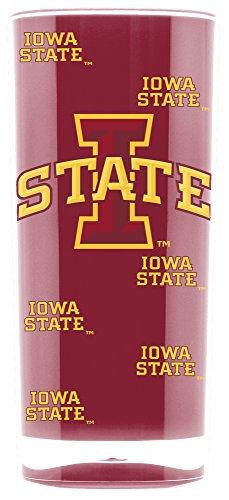 NCAA Iowa State Cyclones 16oz Insulated Acrylic Square Tumbler