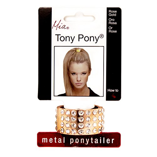 mia-tony-pony-metal-ponytailer-cuff-rose-gold-color-with-clear-rhinestones-75-wide-one-size-fits-all
