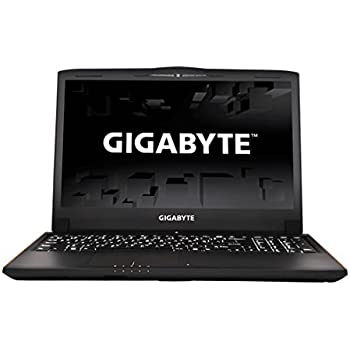 "Gigabyte P55Wv7-KL3 15.6"" Notebook FHD IPS 7th Gen Intel Kabylake i7-7700HQ NVIDIA GeForce GTX 1060 GDDR5 6GB VRAM DDR4 2400 16Gx1 RAM M.2 SATA 256GB SSD 1TB 7200rpm HDD Windows 10 Gaming Laptop"