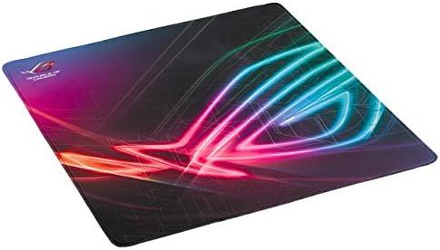 ASUS ROG Strix Edge 縦型 ゲーミング マウスパッド (アンチフレッチステッチ 滑り止め ベース)