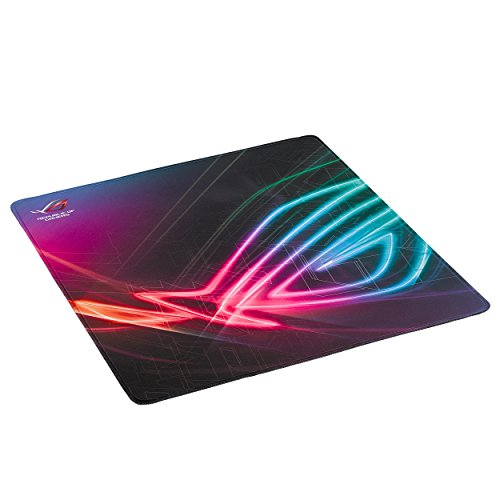 ASUS ROG Vertical Gaming Mousepad Strix Edge with Anti-Fray Stitching and Non-Slip Base (15.7