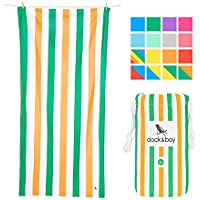 Dock & Bay Microfibre Beach Towels for Travel - Quick Dry...