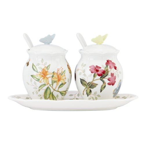 Lenox Butterfly Meadow 7-Piece Condiment -
