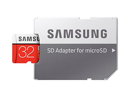 SAMSUNG 32GB EVO Plus MicroSDHC w/Adapter (2017 Model) 6 Samsung Original Models Available: MB-MC32GA, MB-MC64GA, MB-MC128GA, MB-MC256GA Compatible with a wide range of devices for both SD and micro SD (Includes Full-Size SD Adapter.) Excellent Performance for 4K UHD Video and broad compatibility across multiple applications