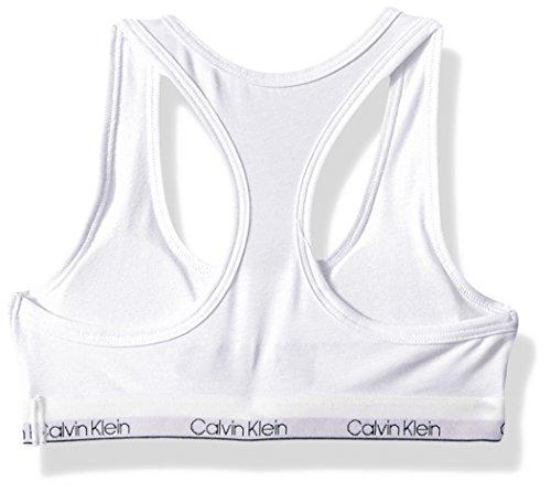 170167503689cd Calvin Klein Big Girls  Modern Cotton Molded Logo Bra
