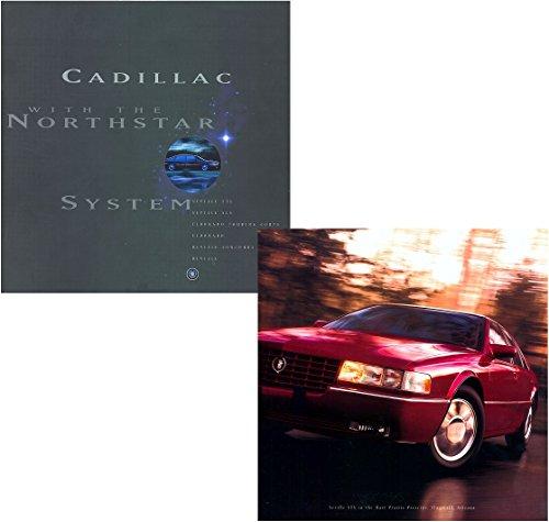 1996 CADILLAC SEVILLE/ELDORADO/DEVILLE NORTHSTAR SERIES PRESTIGE COLOR SALES BROCHURE - USA - GORGEOUS ORIGINAL !!