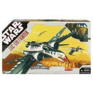 Star Wars Clone Wars ARC-170 Fighter Vehicle Star Wars ARC - 170 Fighter ()
