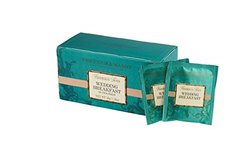 Fortnum & Mason British Tea, Wedding Breakfast, 25 Count Teabags (1 Pack) - Seller Model Id Wbsfl098b - Wedding Tea Ceremony
