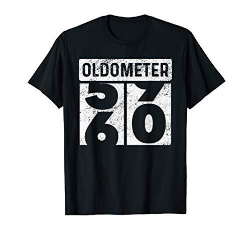 Oldometer Odometer Funny 60th Birthday Gift 60 yrs TShirt