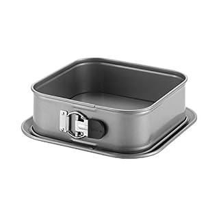 Anolon Advanced Nonstick Springform Baking Pan / Nonstick Springform Cake Pan, Square - 9 Inch, Gray