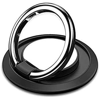Amazon Com Cell Phone Ring Holder Stand 360 Rotation Uitra Thin