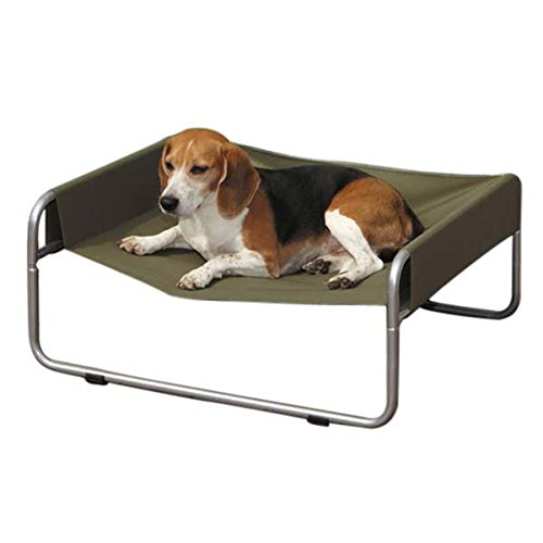 Pet Gear Pet Cot - Guardian Gear Insect Shield Pet Cot for Dogs and Cats, Medium, Green