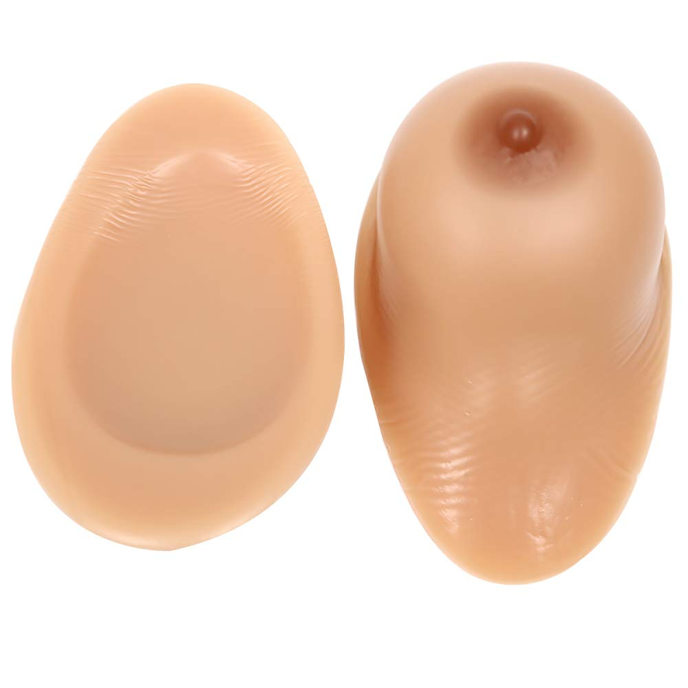 BrownSelfAdhesive MZX Breast Prosthesis Silicone Prosthesis False Boobs Full Silicone Breasts False Boobs Breasts