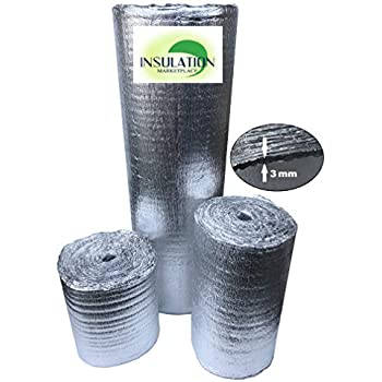Reflectix BP48050 Double Reflective Insulation Standard Edge 48in X 50ft Roll