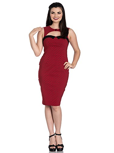 Miley Red Etuikleid Dress 4664 Bunny Pencil Hell f1qSnx