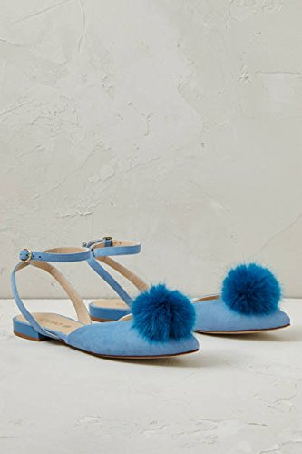 6fd4f9b96df Anthropologie Blushed Rose Pom Pom Sandals: Amazon.co.uk: Shoes & Bags