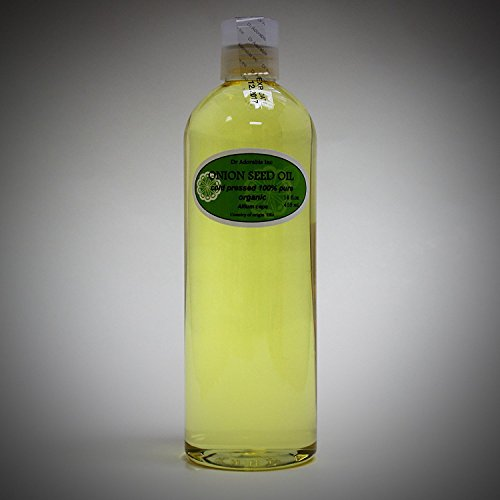16 Oz Premium Onion Seed Oil Organic Natural Hair Care Hair Treatment Cold Pressed