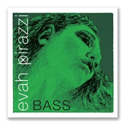 Pirastro Evah Pirazzi 3/4 String Bass String Set - Medium Gauge