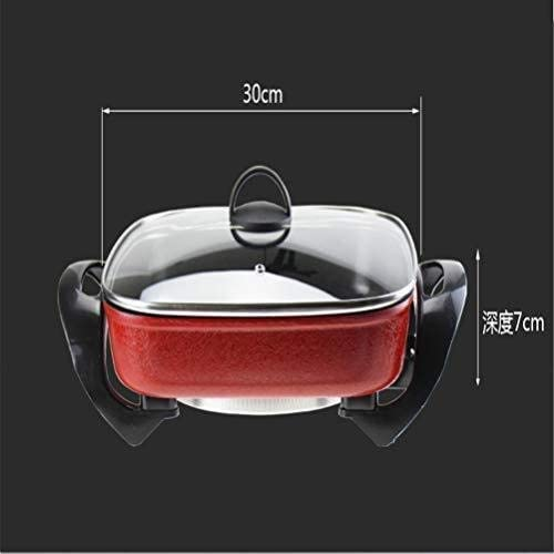 BBQ Hot Pot, 1500 Watt multi-fonction Circulation Chauffage Hot Pot, Réduire Suie Plateau de cuisson Barbecue électrique HAOSHUAI
