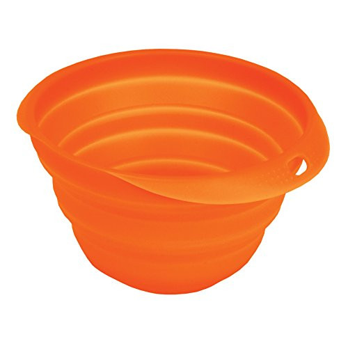 (High Road Silicone Collapsible Pet Bowl for Food and Water)
