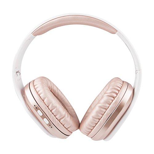 - Altec Lansing MZX667-RG Evolution2 Waterproof Bluetooth Headphones, Rose Gold