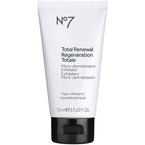 No7 Total Renewal Micro-dermabrasion Exfoliator 2.5 fl. oz. -