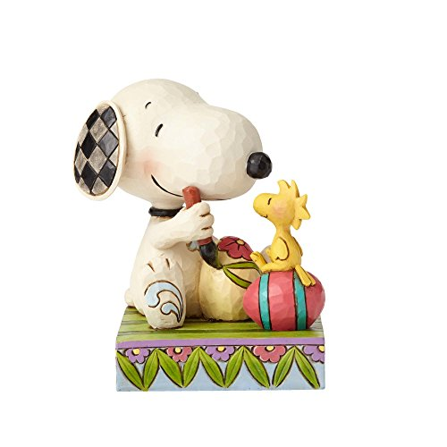 Peanuts by Jim Shore Snoopy and Woodstock With Easter Eggs