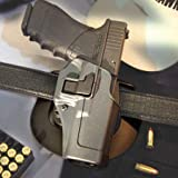 BLACKHAWK! Serpa CQC Gun Metal Grey Sportster Holster, Size 07, Right Hand, (Springfield XD Compact or Service Models Gn Mtl Gry  )