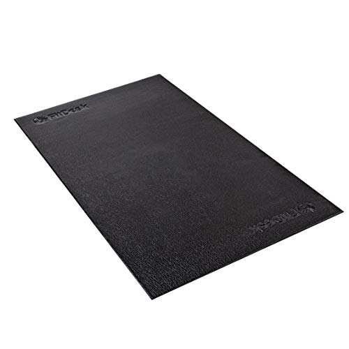 FitDesk Protective Floor Mat 48″ x 27″ – Gym Mat for Equipment at Home and Exercise