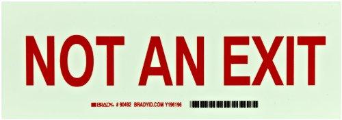 Brady 90492 Self Stick Polyester Directional