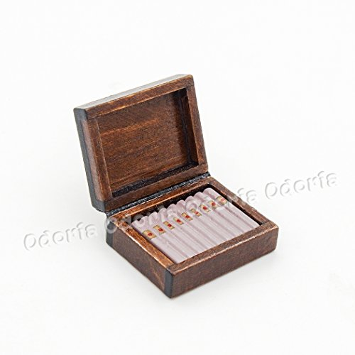House Humidor (Odoria 1:12 Miniature Cigar Humidor Dollhouse Decoration Accessories)