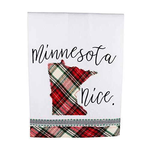 Glory Haus Home Multicolor, Collegiate Tea Towel 19x25x0.1 inch. (Minnesota Nice)