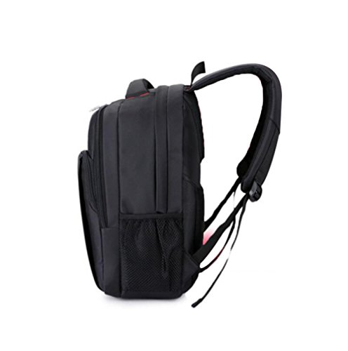 Usb Gray Backpack High Computer Student Rechargeable capacity Business Shoulder Dhfud Bag 4AqwxRA7