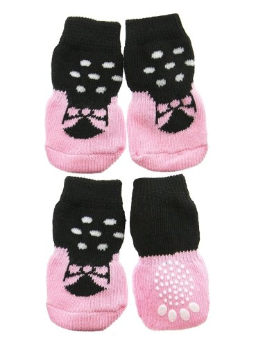 UrbanPup Ballerina Pet Socks (Large - Dog Foot Width: 1.5