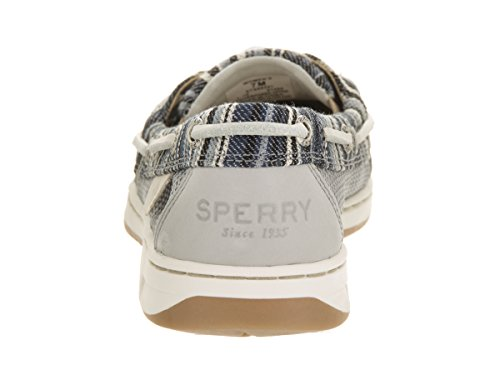 Shoe Women's Denim Stripe Dunefish Sperry Sider Top Boat Grey w0qCSO