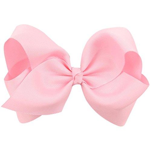 (LiPing Big Hair Bow Boutique Grosgrain Ribbon Hairpins Hairpins Headwear Hair-Non-Slip DIY Accessories Hair grip for Women Girl/Children's Butterfly Knot Hair Clip)