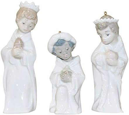 Lladro Porcelain Mini Three Kings Reyes 5729