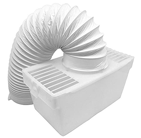 Spares2go Condenser Vent Box & Hose Kit For Bauknecht Tumble Dryers (4