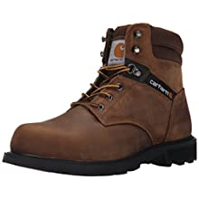 Carhartt Men's 6 Work Safety Toe NWP-M, Crazy Horse Brown Oil Tanned, 9.5 M US