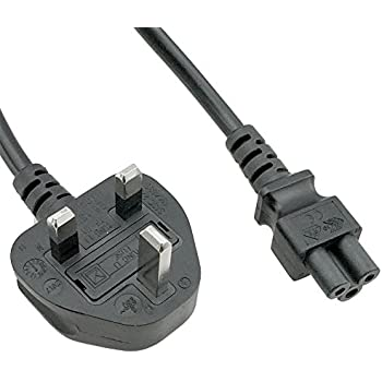 UK fused plug 6ft BS1363A to C13 Power Cord