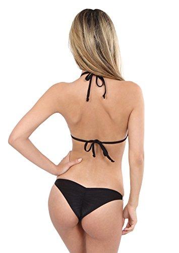 Avec Bikini Et Chaînes nbsp;strass Schwarz 4 Slip dRrB1qnxR