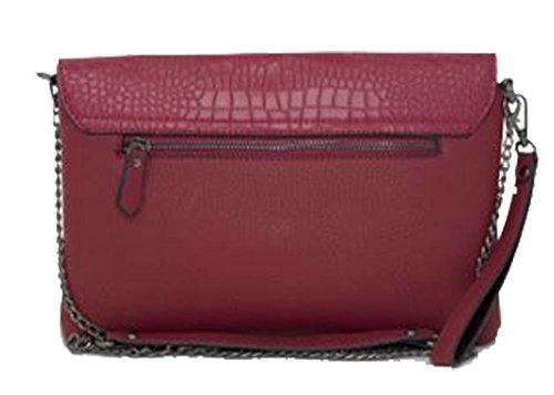 marron Pochette Hautefordiva pour moyen femme Red q6xAP7pw