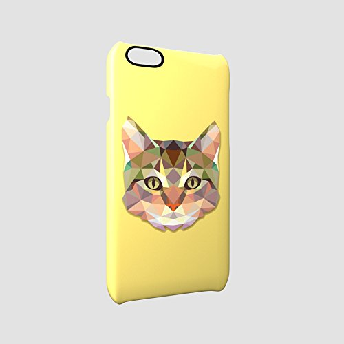 Cat Animal Art Of Triangles Kitty Kitten Glossy Hard Snap-On Protective iPhone 6 Plus + / 6S Plus + Case Cover