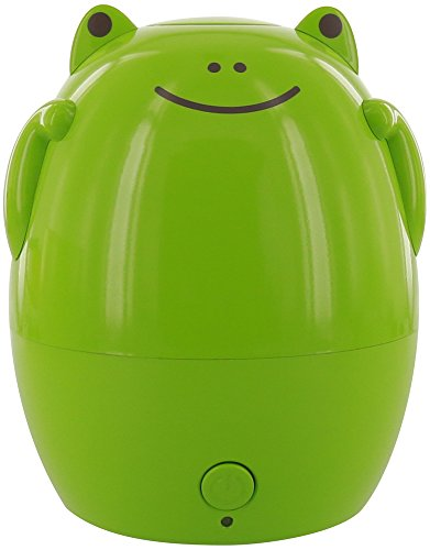 GreenAir Creature Comforts Kids Essential Oil Aroma Diffuser & Humidifier (Jax the Green Frog)